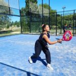 Padel activity during our summer camp in the South of France